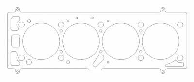 Cometic Gasket for Porsche 924/924 Turbo 1976-85 2.0L 4 CYL 88mm MLS Head 2