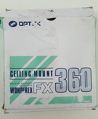 Optex FX-360 Ceiling Mount - Passive Infrared Detector. Ceiling Mount 360 degree