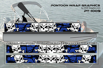 **NEW** Hunting  DIY WRAPPING Pontoon wrap graphics kit decal stickers PT-1009