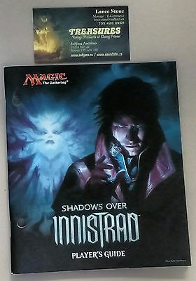 MTG Shadows over Innistrad  Player's Guide (from Fat Pack)