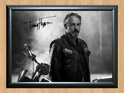 Tommy Flanagan Sons of Anarchy Chibs Signed Autographed A4 Print Photo Poster
