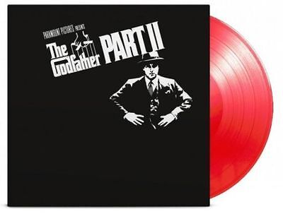 THE GODFATHER PART II 2 Soundtrack OST 180gm RED Vinyl LP 2015 NEW & SEALED MoV