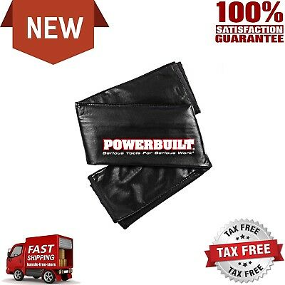 POWERBUILT Auto Fender Cover Car Truck Protector Mechanic Covers 24 x 35 inches