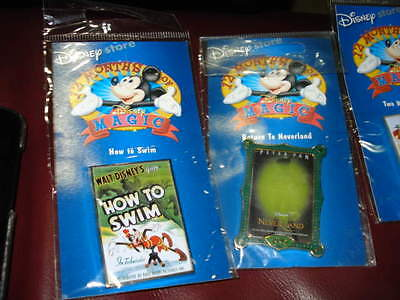 Disney Store 2000 12  Months Of Magic Goofy How To Swim Pin Badge Sealed Mint