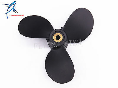 Outboard Plastic Propeller 7 1/2x8-BA for Yamaha 4HP 5HP 4A 5C F4A F5A F6C motor
