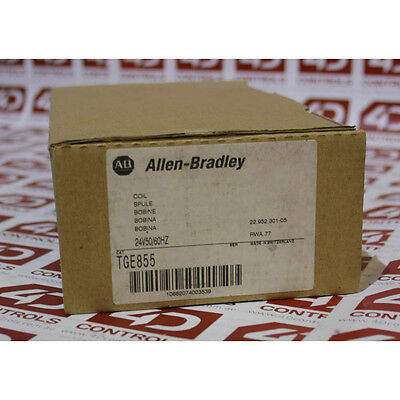 Allen Bradley TGE855 24V 50/60HZ COIL - New Surplus Open - Series A