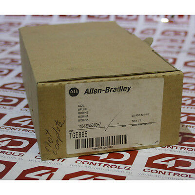 Allen Bradley TGE865 110 130V 50/60HZ COIL - New Surplus Open - Series A