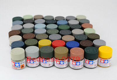 Tamiya Model Color Acrylic Mini Paint 10ml XF-1 - XF-90 81701-81790 Flat Matt