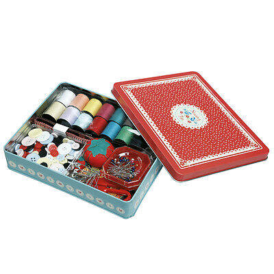 dotcomgiftshop VINTAGE DOILY DELUXE SEWING KIT