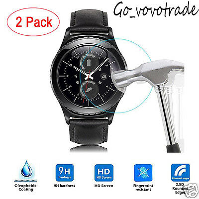 2PC Ultra HD Film Intelligent LCD Screen Protective For Samsung Gear S3 Classic