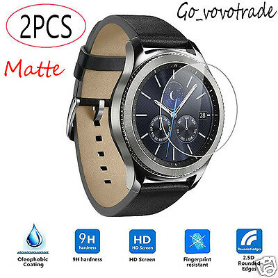2PC Slim Frosted Scrub Matte Screen Protector Film For Samsung Gear S3 Classic