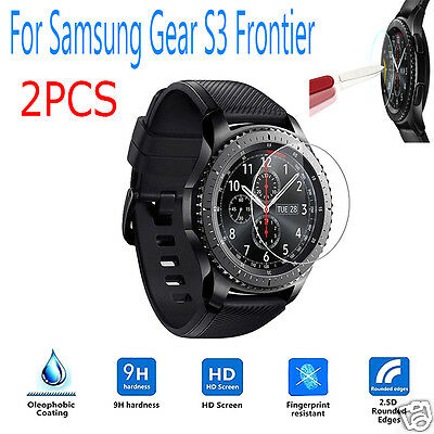 2PC Ultra HD Intelligent LCD Screen Protective Film For Samsung Gear S3 Frontier