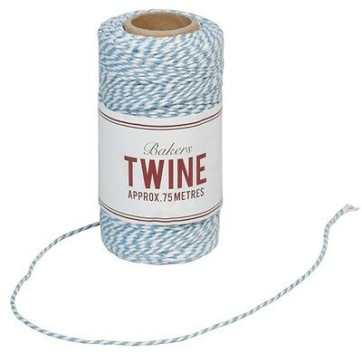 dotcomgiftshop BAKERS TWINE BLUE AND WHITE