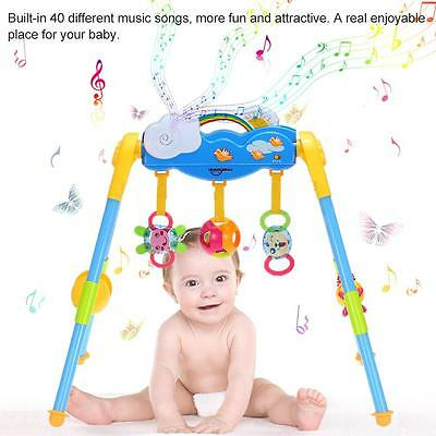 Baby Activity Center Play Gym Exercise Detachable Toy Kit w/ Music Playing A8W7
