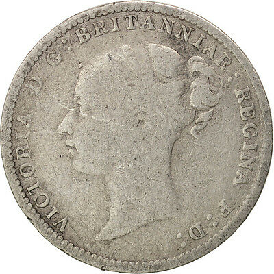 [#410685] Great Britain, Victoria, 3 Pence, 1883, VF(20-25), Silver, KM:730