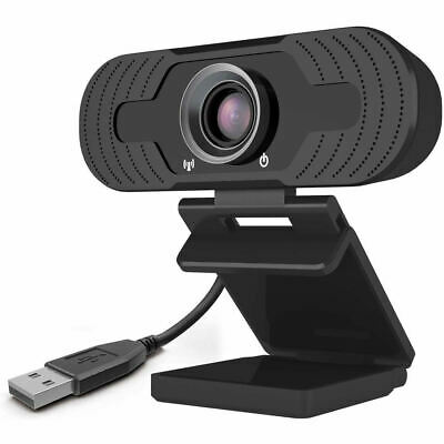 Full HD 1080P Webcam With Microphone USB For PC Desktop Laptop NEW UK Stock