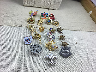 Lot Wholesale Resale Flea Market Small Stud Style Assorted Pins B
