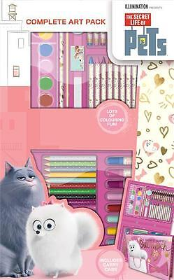 The Secret Life of Pets Complete Art Pack Colouring Drawing Art Set