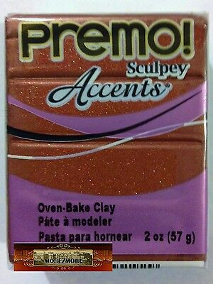 M00633 MOREZMORE Premo Sculpey 2oz YELLOW SUNSHINE Sculpting Polymer Clay A60