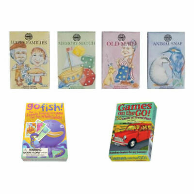 Assorted Children's Playing Card Games Kids Stocking Fillers (1 Supplied)