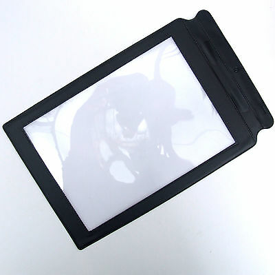 LARGE  A4  Fresnel Full Page Sheet Magnifier Magnifying Glass Reading Aid Lens