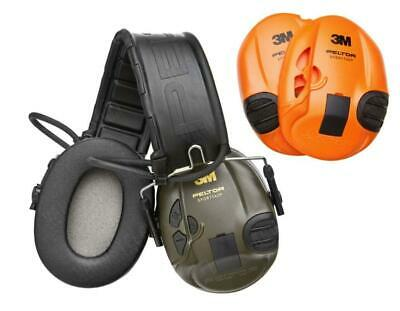 PELTOR EAR DEFENDERS SportTac Electronic Shooting sportac Hearing Protection 3M