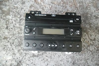 Ford Fiesta 2003 Cd Player 4500 Rds With Code