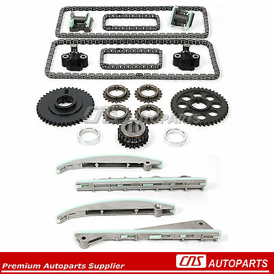 "Timing Chain Kit for 03-05 Lincoln Aviator Ford Mustang 4.6L ""DOHC"" 32V INTECH"