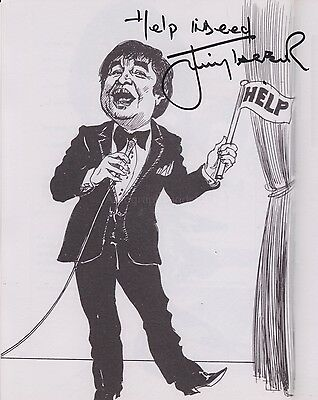 Jimmy Tarbuck Hand Signed 8x10 Photo, Autograph, Comedian (B)
