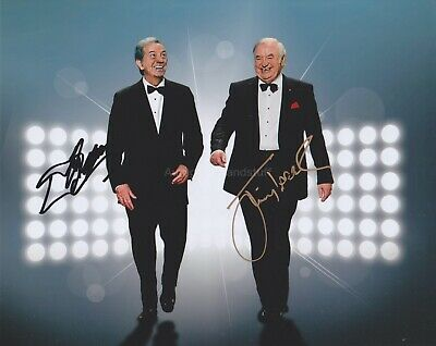 Jimmy Tarbuck & Des O Connor Hand Signed 8x10 Photo, Autograph, Comedian