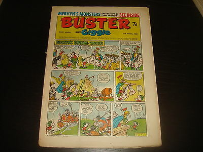 BUSTER and GIGGLE British UK Comic 3rd August 1968