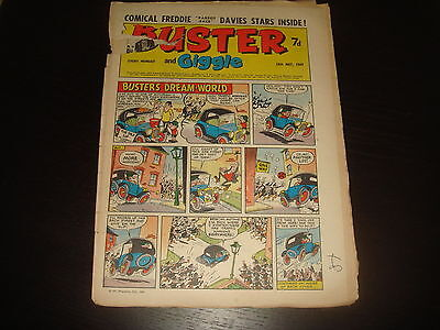 BUSTER and GIGGLE British UK Comic 10th May 1969