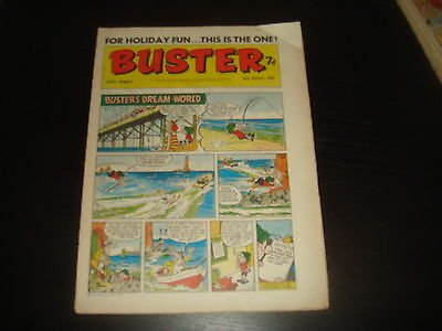 BUSTER  British UK Comic 30th August 1969