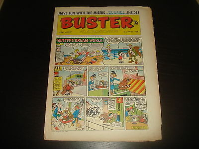 BUSTER  British UK Comic 2nd August 1969