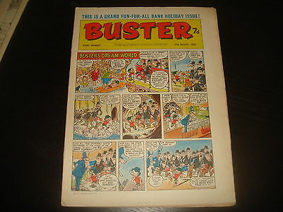 BUSTER  British UK Comic  29th August 1970