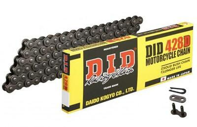DID STD Motorcycle Chain 428D 126 links fits Kymco 125 Stryker (Off Road) 99-05