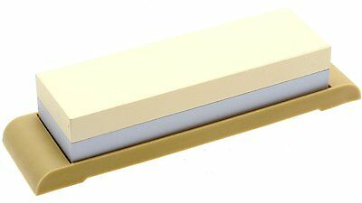 Suehiro Japanese Sharpening Stone 1000/3000 Grit w/ Rubber Base S-4030