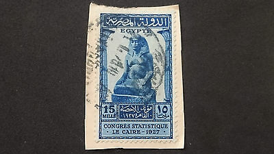 1927- Egypt- Statue Of Amenothep, Son Of Hapu- Scott 152 A47 15M- Me