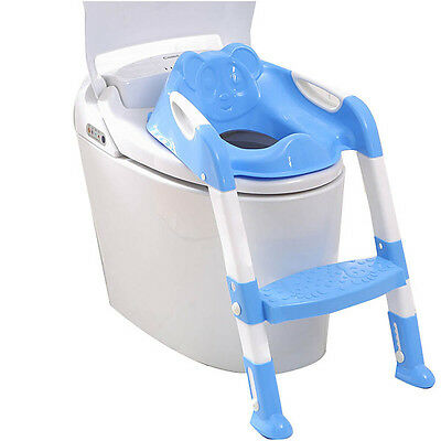 Baby Toddler Boy Girl Folding Potty Training Toilet Trainer Safety Seat Chair