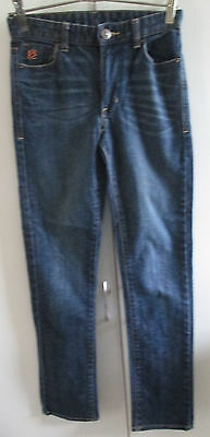 Sean John Blue Denim Jeans Boys Size 12 Cotton Designed To Fade