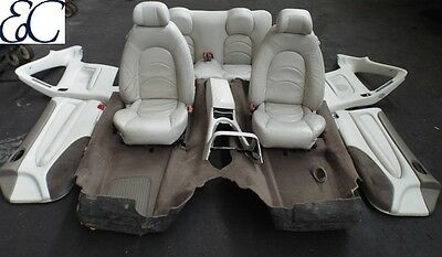 Jaguar XKR 4.2 full leather interior in cream to fit 2002-2005.