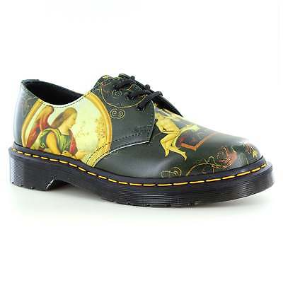 Dr Martens Di Paolo Unisex Leather 3-Eyelet Shoes Multi