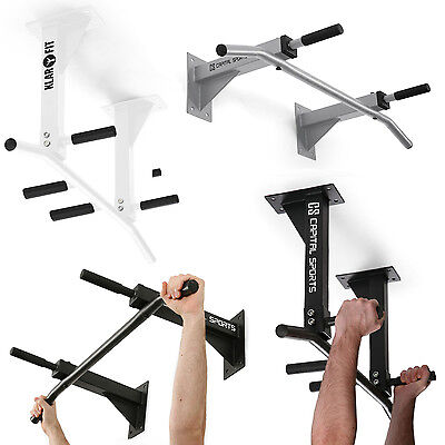 Wall-Ceiling Mounted Chin Up Pull Up Bar Home Gym Fitness Equipment 8 Variants
