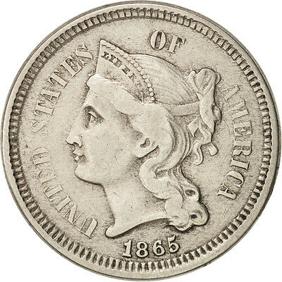 [#48629] United States, Nickel 3 Cents, 1865-P, KM:95