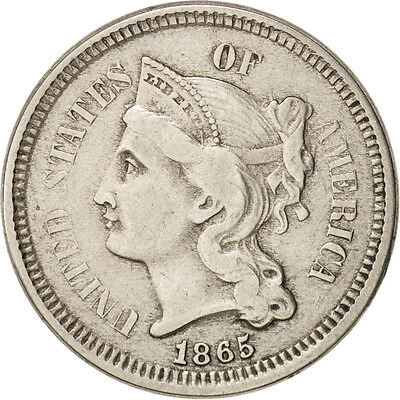 United States, Nickel 3 Cents, 1865-P, KM:95