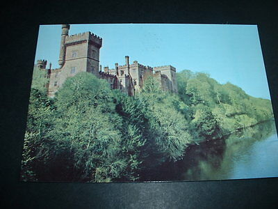 IRISH POSTCARD LISMORE CASTLE AND RIVER BLACKWATER Co WATERFORD  IRELAND