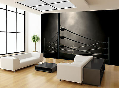 Classic Vintage Boxing Ring Wall Mural Photo Wallpaper GIANT WALL DECOR