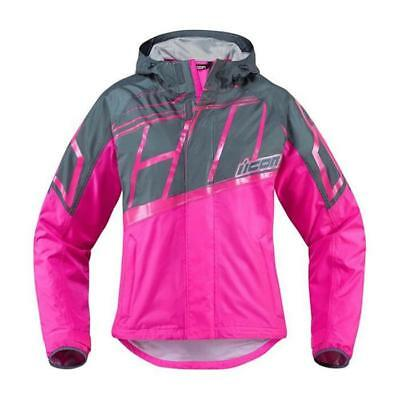 ICON Damen Motorrad Jacke - PDX 2 - pink Motocross Enduro MX Cross