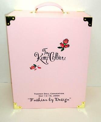 """Tonner Tiny Kitty Collier 2004 XL Wardrobe Trunk Case for 10"""" Doll + Accessories"""