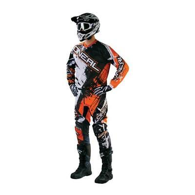 Oneal Element Combo 2016 Hose Jersey Shocker schwarz-orange Motocross Enduro MTB